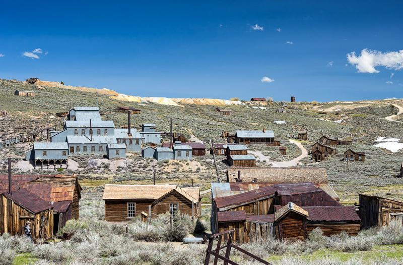 California Road Trips: The Ghost Town at Bodie State Historic Park