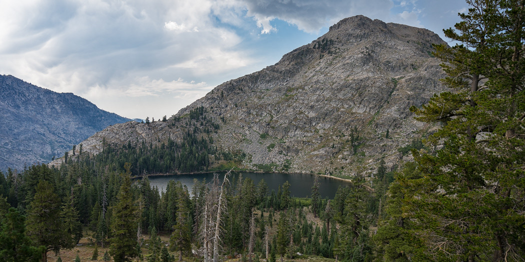 South Lake Tahoe Hiking Trails: Fourth of July Lake via Round Top Lake