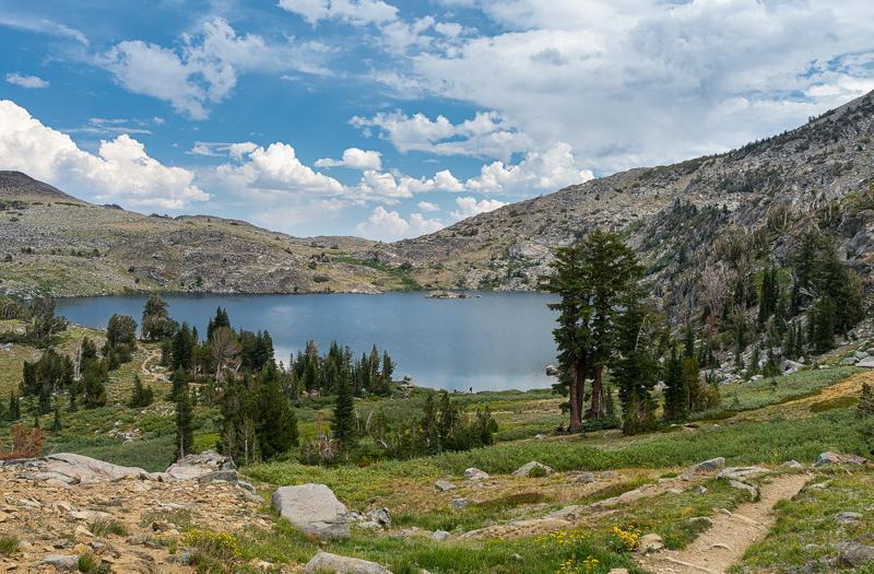 South Lake Tahoe Hiking Trails: Round Top & Winnemucca Lakes Loop