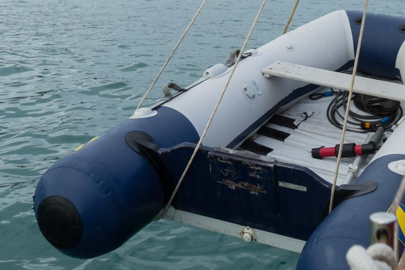 dinghy hoist