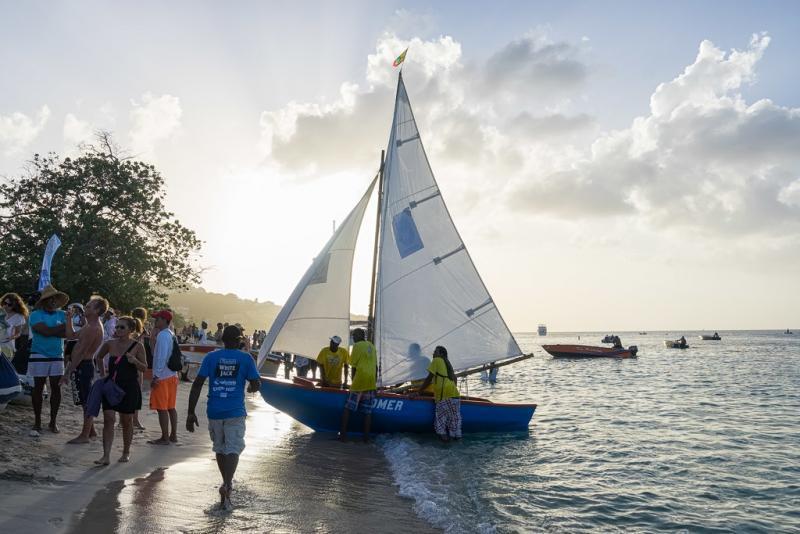 grenada sailing festival finish