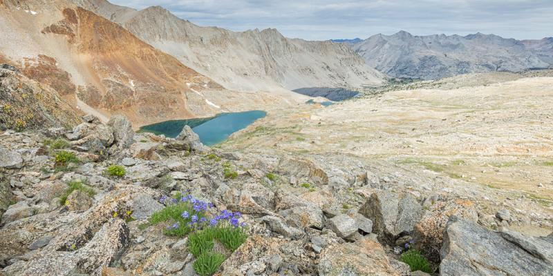 John Muir Trail Mile-by-Mile Photos, Mather Pass to Mt Whitney