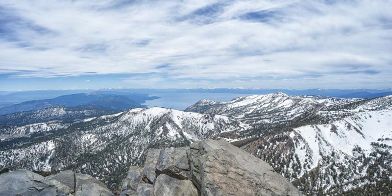 Lake Tahoe Hiking Trails: Mt Rose Summit