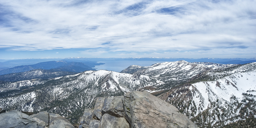 Lake Tahoe Hiking Trails: Mt Rose Summit