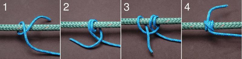 Rolling Hitch Diagram