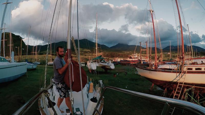 Installing sails