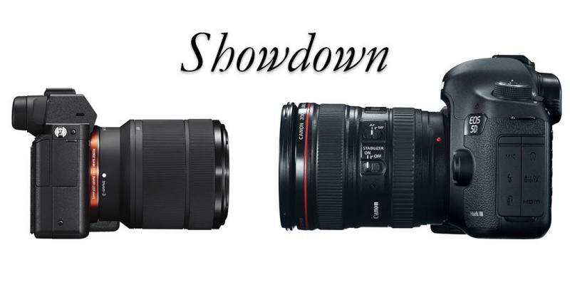 Sony A7 Canon 5D