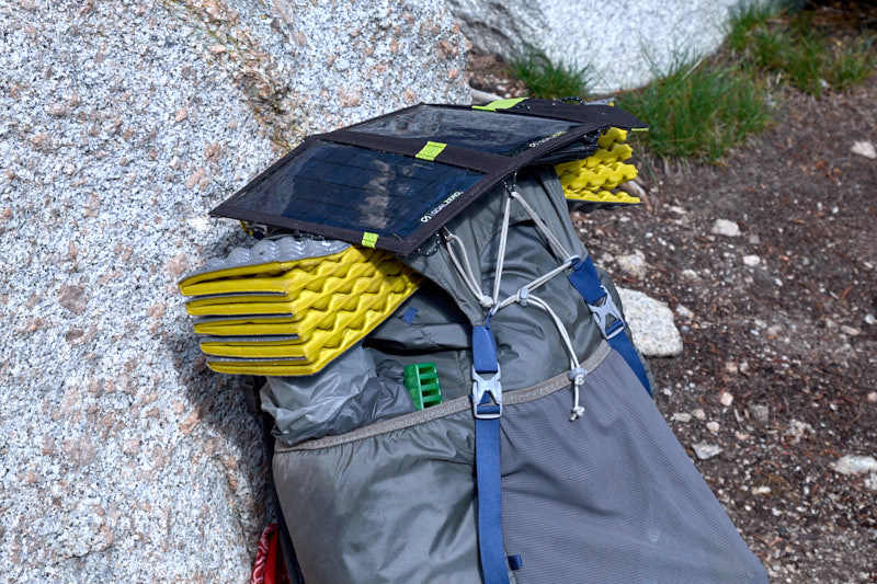 nomad 7 backpacking solar charger