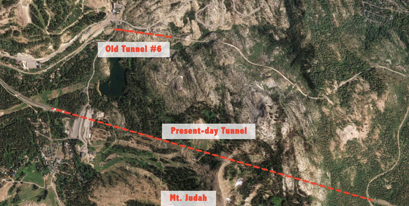 California Truckee S Historic Donner Summit Railroad Tunnels