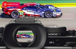 mirrorless camera viewfinder