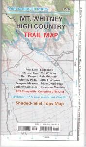 high sierra trail map