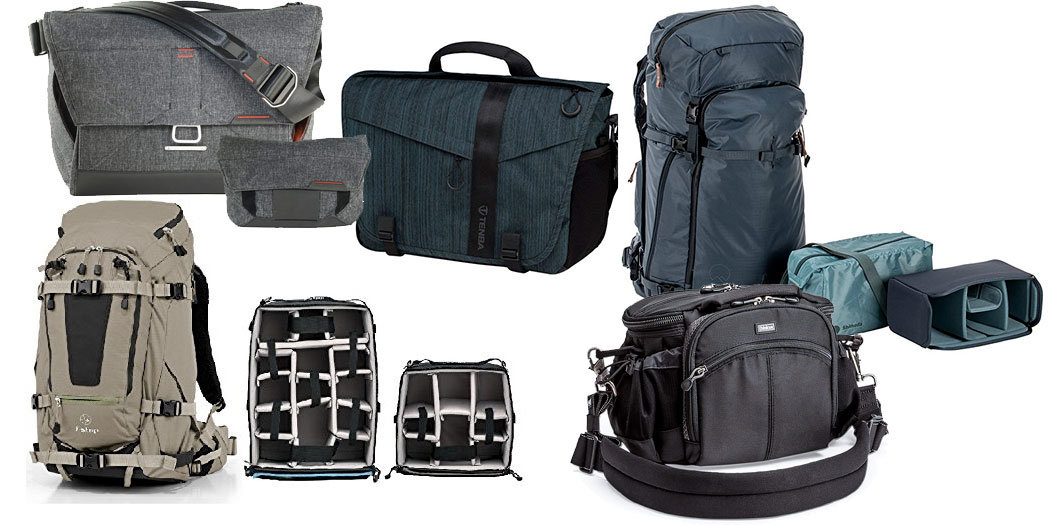 Five brands with the best travel camera bags for Travel gear brand