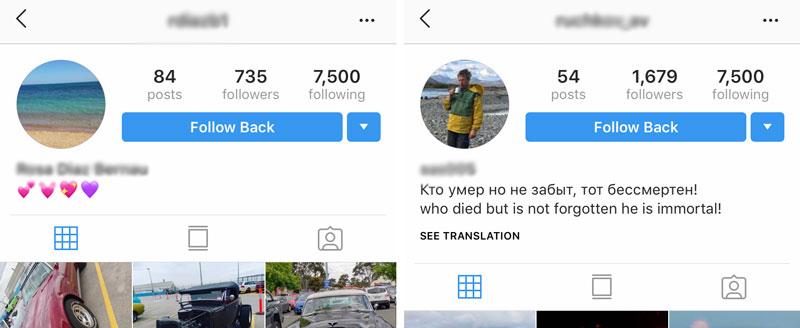 clean instagram mass followers