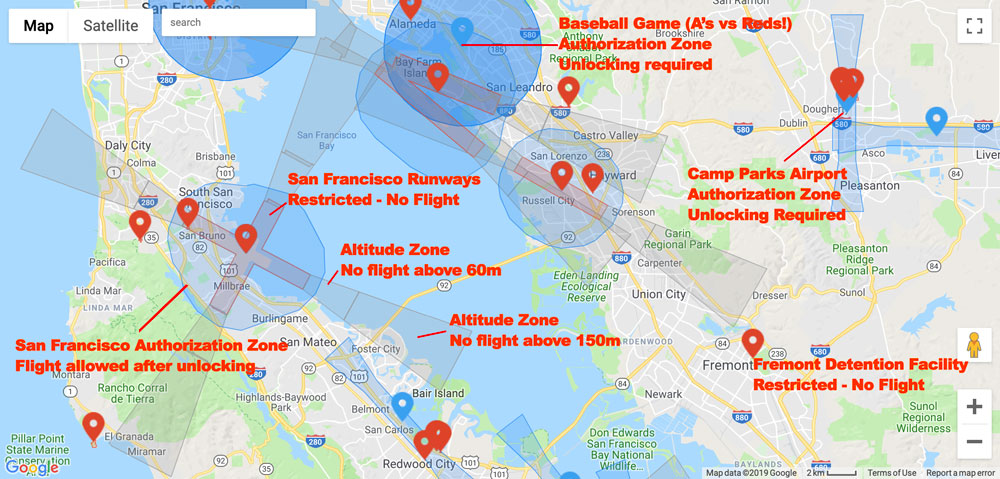 Understanding & Unlocking DJI's Fly Safe Geofencing System