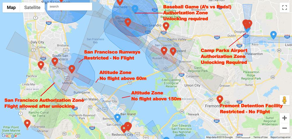 DJI Geo Zones