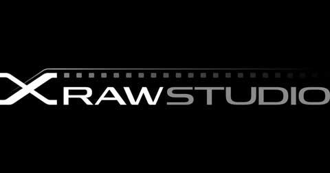 x raw studio logo
