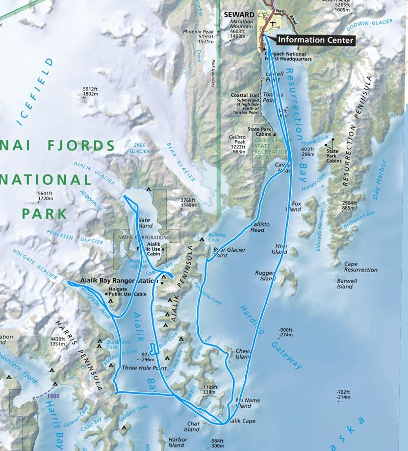 kenai fjords national park boat tour