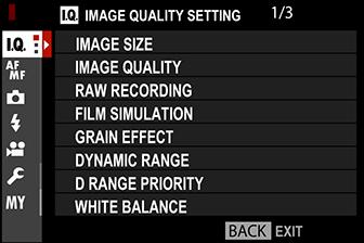 fuji dynamic range priority