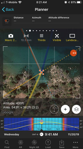 PhotoPills Drone Mode