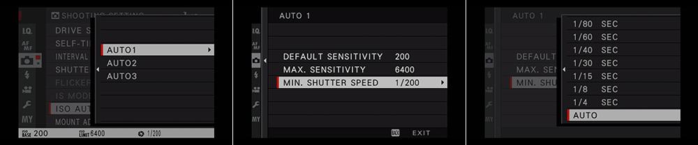 Program Auto ISO