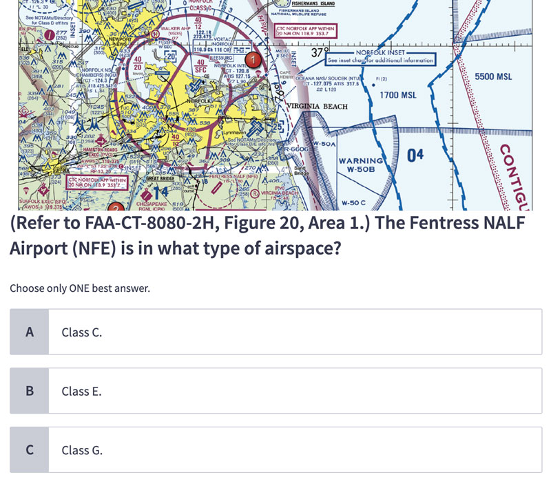 part 107 airspace question