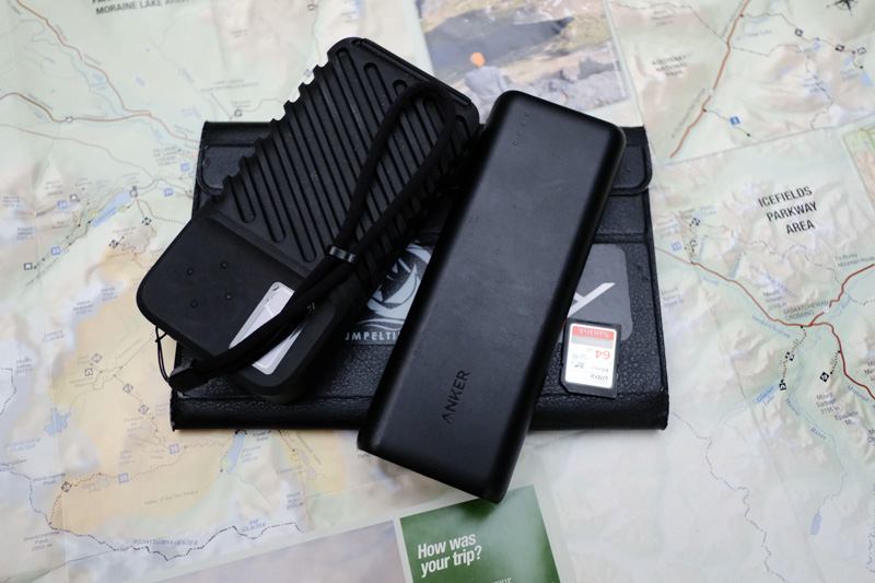 gnarbox travel photography setup