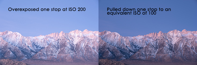 low extended iso example