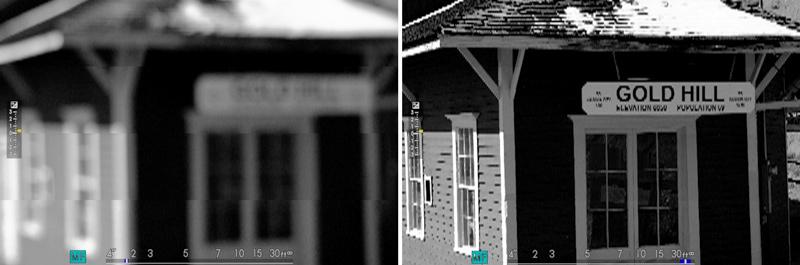 digital split image zoom