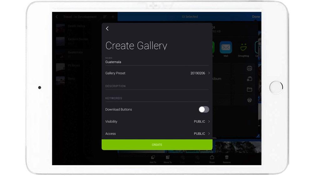lightroom mobile smugmug publish