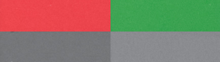 red green gray