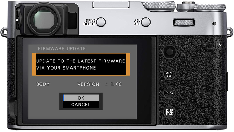 fuji camera firmware transfer