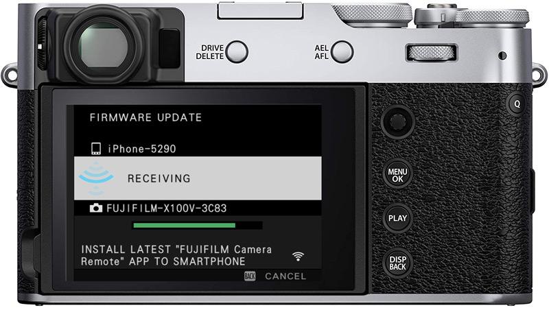 fujifilm firmware transfer