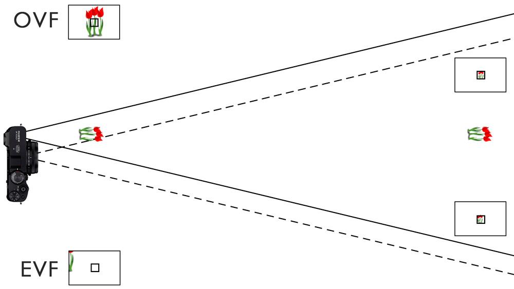 viewfinder parallax