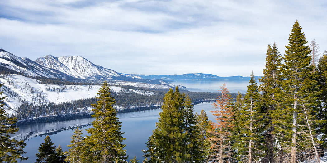 Lake Tahoe Hiking Trails: Snowshoeing Angora Fire Lookout & Angora Lakes