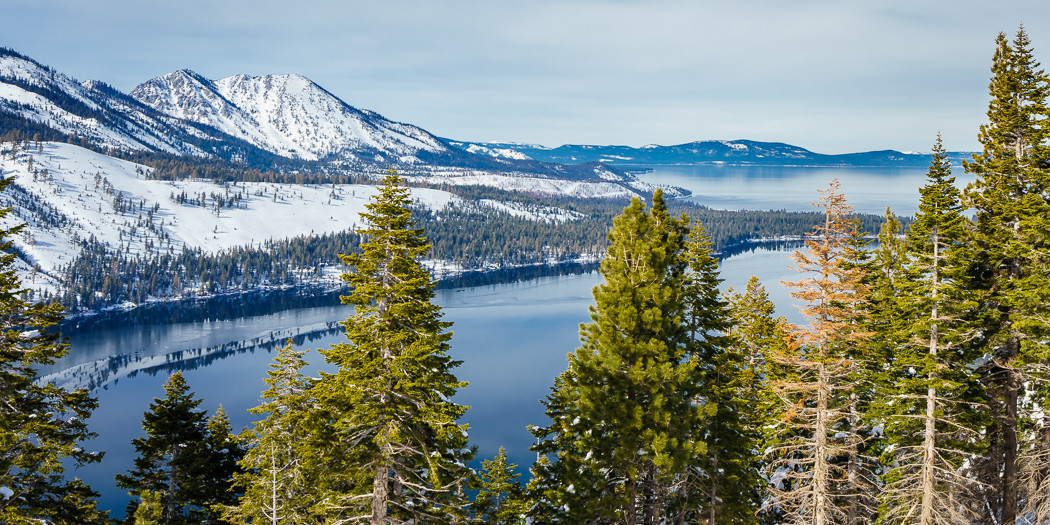 Lake Tahoe Hiking Trails: Snowshoeing Angora Fire Lookout & Angora Lakes