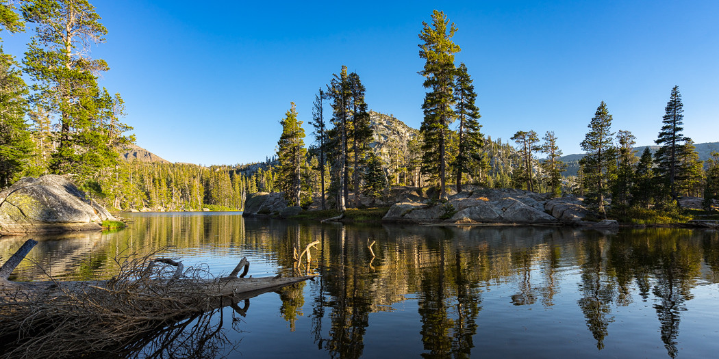 South Lake Tahoe Hiking Trails: Dardanelles Lake from Big Meadow
