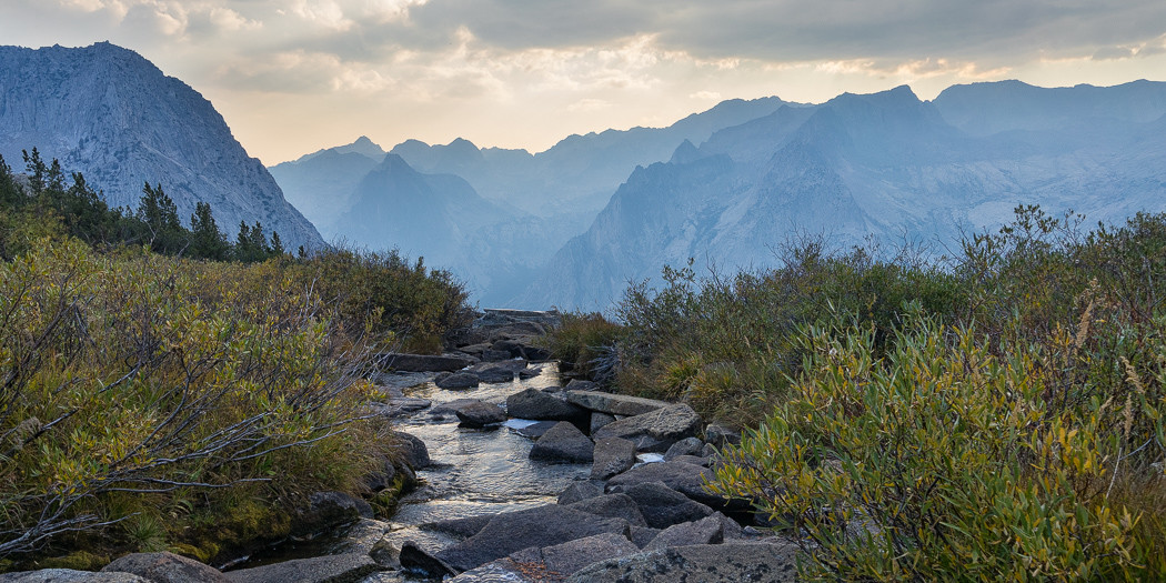 California: Dusy Basin via Bishop Pass Trail