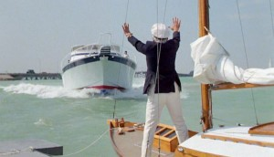 How some captains react when another sailboat tries to anchor near them. (Caddyshack, Warner Bros. 1980)