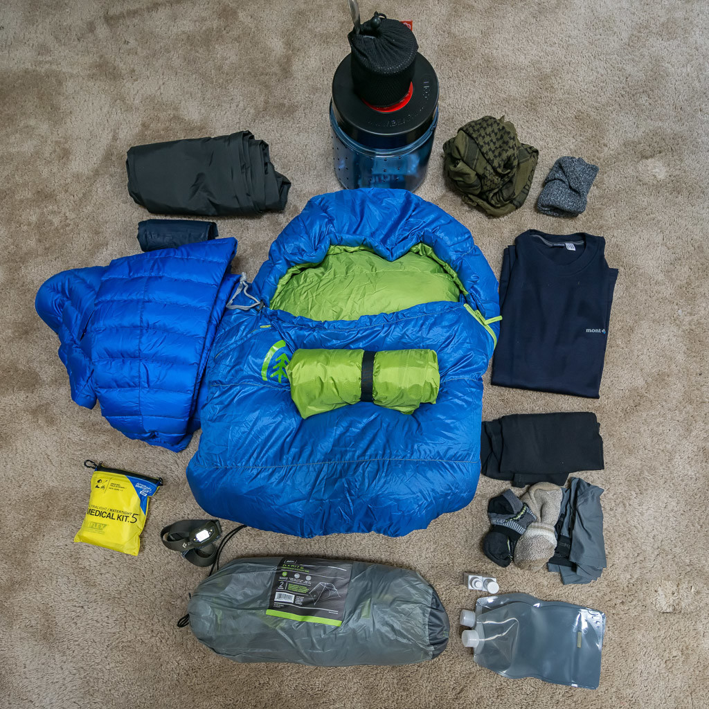 Backpacking Gear For The Sierra Nevadas