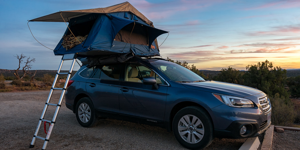 Road Trippin' with the Tepui Rooftop Tent