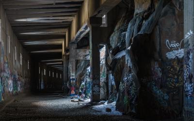 California: Truckee's Historic Donner Summit Railroad Tunnels