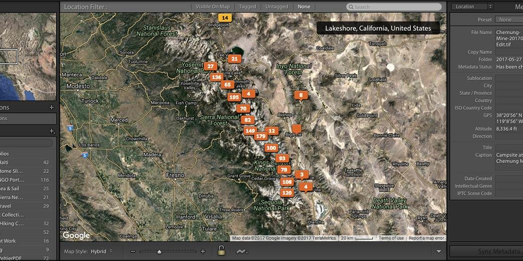 Geotagging Photos in Adobe Lightroom Without Any GPS Data
