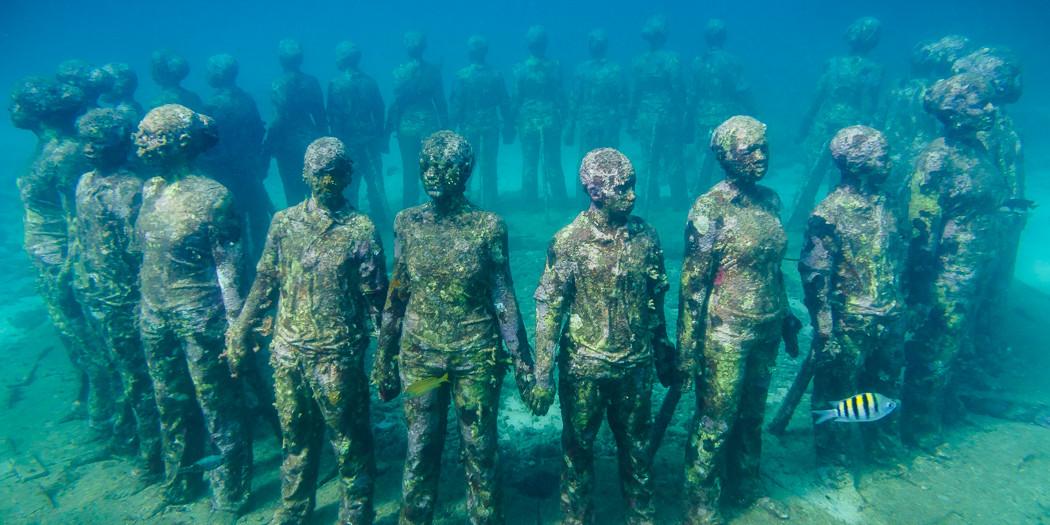 Grenada's Underwater Sculpture Park