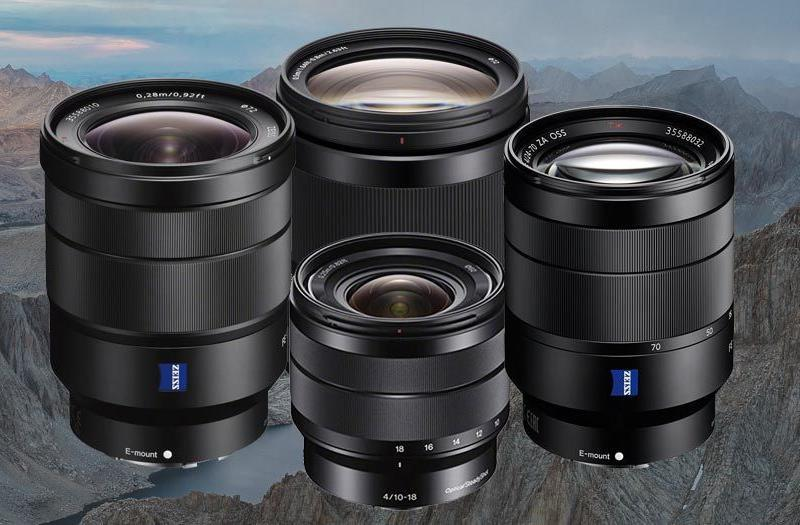 These Are the Sony Alpha Lenses You Want for Backpacking & Hiking