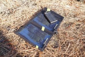 Goal Zero Nomad 7 backpacking solar charger