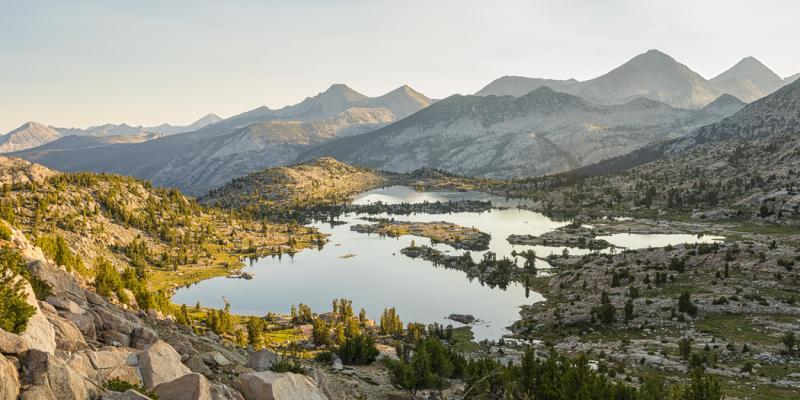John Muir Trail Mile-by-Mile Photos & Trail Journal, Red's Meadow to Muir Trail Ranch