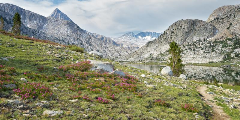 John Muir Trail Mile-by-Mile Photos, Muir Trail Ranch to Mather Pass