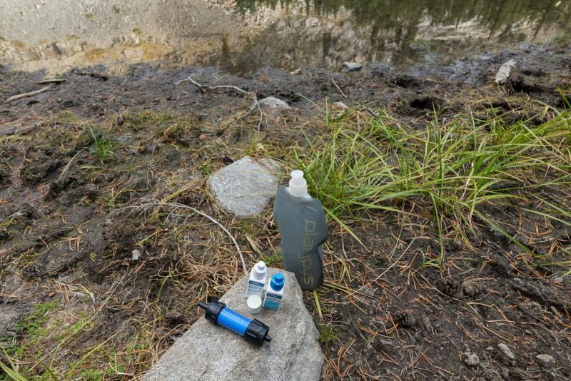 Lightweight water filtration