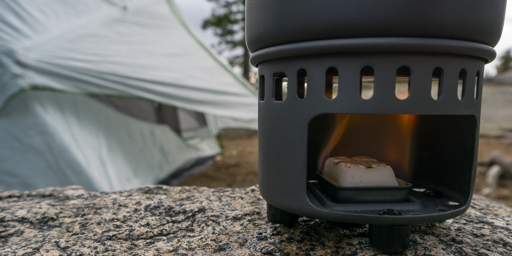 Backpacking with an Esbit Stove