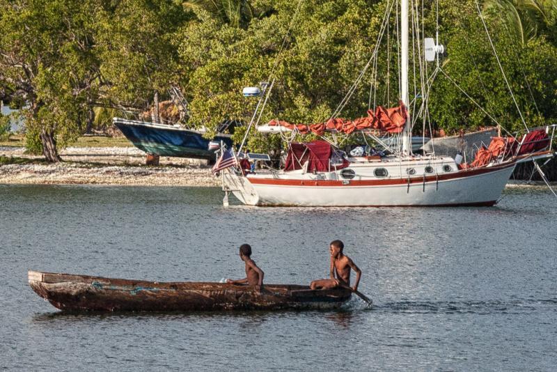 Sailboat in Haiti
